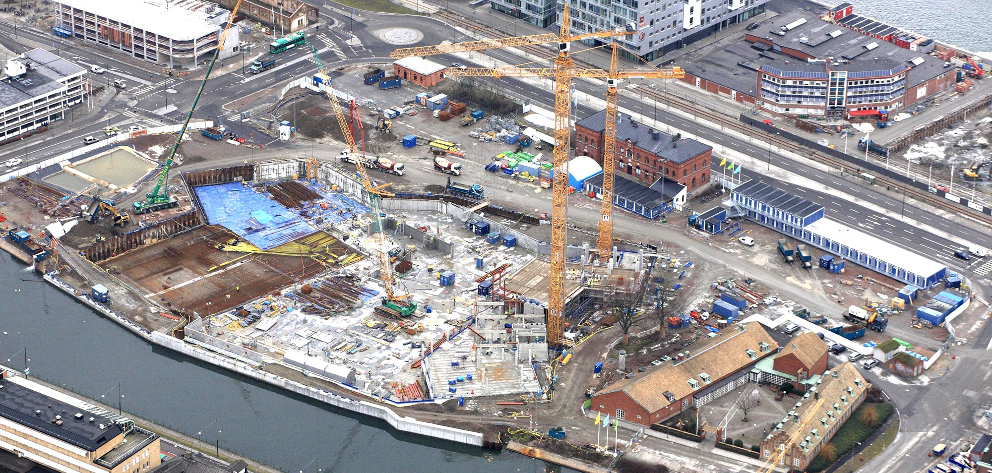 Malmö Live Construction Site