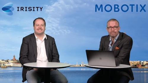 Mobotix Irisity webinar school