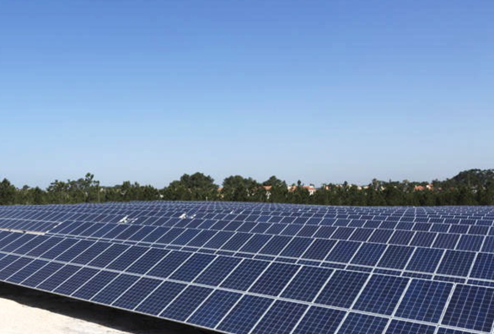 Solar park in Southern Europe